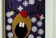 Karácsonyi osztálytermi dekorációs ötletek / Ötletek kézzel készített tantermi dekorációkhoz