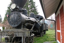 Steam Locomotives Have Character / by Merry Ford
