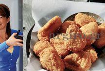 κοτομπουκιές με σως γιαουρτιού