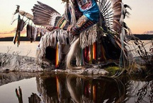 powwow dancers / I have always loved and admired different tribal dancers, the way they flow and thump.. The movement of theyre traditional dresses.. / by Rosemary Trujillo