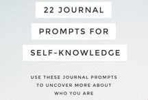 Journal for self awareness