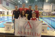 Liselilere havuz dar geldi / MEB Liseler arası yüzme müsabakalarında Anabilim Anadolu Lisesi öğrencileri, önemli bir başarıya imza attı.
