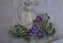 eu / pinturas em tecido @2