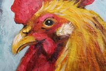 I Love Roosters (and Chickens) / by Patti Kransberg