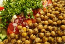 Chickpeas dishes