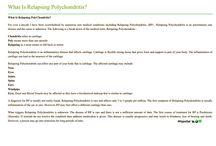 Relapsing Polychondritis / Auto Immunity