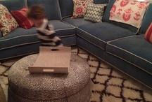 Living room ideas / by Maggie Full Settle