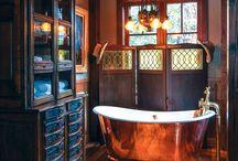 copper bathrooms