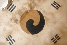 Taegukgi (korea flag) / Taeguk patten , Taegukgi (korea flag) 太極, 태극기