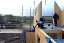 Structural Insulated Panels SIPs / Paul Bancroft Architects Structural Insulated Panels new house at Woodnewton