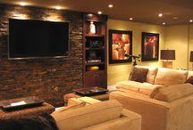 Ideas for basement Renovation / by Helen Race