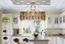 Дизайн интерьера дома в классическом стиле / Пожелания заказчика: молодая семья пожелала оформить дизайн интерьера дома в легком классическом стиле с элементами современного модерна.