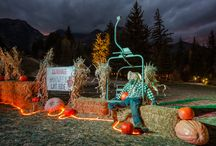 Halloween at Sundance / From Halloween Lift Rides to Employee Pumpkin Carving Contests, Halloween is a great time of year at Sundance Mountain Resort! #SundanceResort