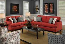 rosso divano