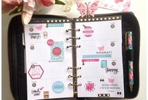Fancy Planner Decoration / Exclusive planner accessories by @thepinkdotpaperie