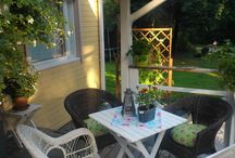My garden / Kokoelma onnistuneita tuunauksia omalta pihalta tai mökiltä.