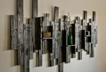 Wall art / Wood
