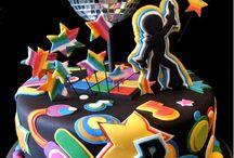 Disco, Dance & Music cakes
