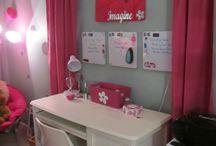 Daughter's room ideas / Tween Girl