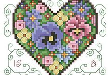CRAFTS: COUNTED X-STITCH / by PA Morgan