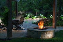 Backyard gathering area / by Jan Norman