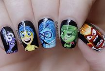Disney Pixar's Inside Out Nail Art / Like the rest of the world the FN2G Team love Disney Pixars's latest film Inside Out, to celebrate the premiere of this film we have collected some of the cutest Inside Out inspired designs on this board. #fn2g #fingernails2go #insideoutnails