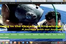 """Our etwinning project : """"Diving in the oceans of knowledge!"""""""
