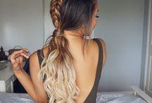 Wedding hair inspo /