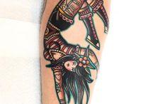 Acrobat tattoo (balance)