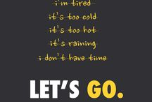 Exercise inspiration! / Inspiration and Motivation