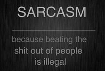 THE SARCASM! / For me there are two kings of sarcasm: Chandler Muriel Bing & Triumph the Insult Comic Dog