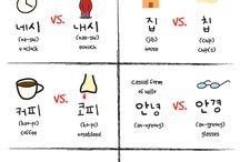 bahasa korea - beda tipis