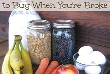 Grocery Budget Frugal Healthy Food