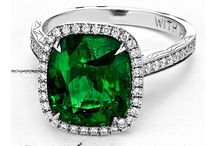 Zameer Kassam Bespoke Emerald Jewelry / Bespoke jewels designed by Zameer Kassam, featuring beautiful, natural emeralds. Every piece discreetly tells the story of our client and their celebration through hidden gemstones, carvings and secret codes.