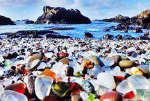 beach glass(mermaids tears)