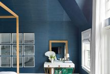 Interior Design colour trends of 2017 / The Spring / Summer 2017 interior design colours mirror the fashion colour trends but in a more subtle and sophisticated set of shades.