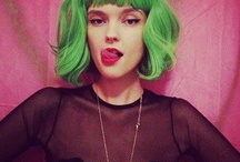 Green hair memories