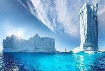 Paysages de glace