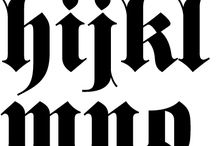Lettering Gothic