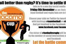 Football vs Rugby / by Jacamo UK
