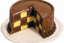 dorty ovocné a čokoládové
