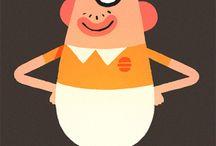 Characters / by Bram van Rijen