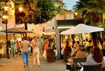 Destination ville / Le centre-ville de Sainte-Maxime et son centre historique...