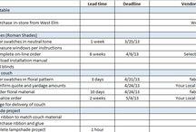 Project Schedule ideas