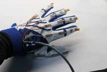Remote Control Switch on fingertips / Communications between deaf mute and a normal person have always been a challenging task.    The project aims to facilitate people by means of a glove based deaf mute communication interpreter system.