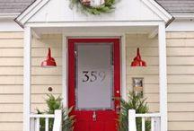 Front porch & Deck
