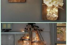 lights in jars