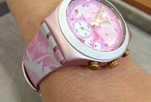 A**   I love Swatch ** / clok / by Livy....**