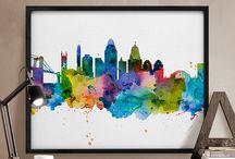 città illustrate