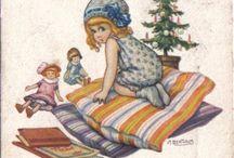Buon Natale cartoline vintage / by Urania Pantini